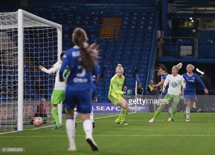 Chelsea Ladies 0-3 VfL Wolfsburg Frauen: Blues sing the blues at the Bridge