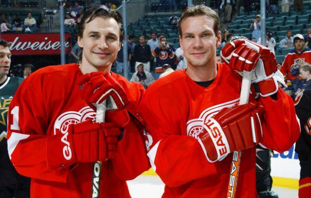 Los cinco mejores jugadores europeos en la historia de los Detroit Red Wings