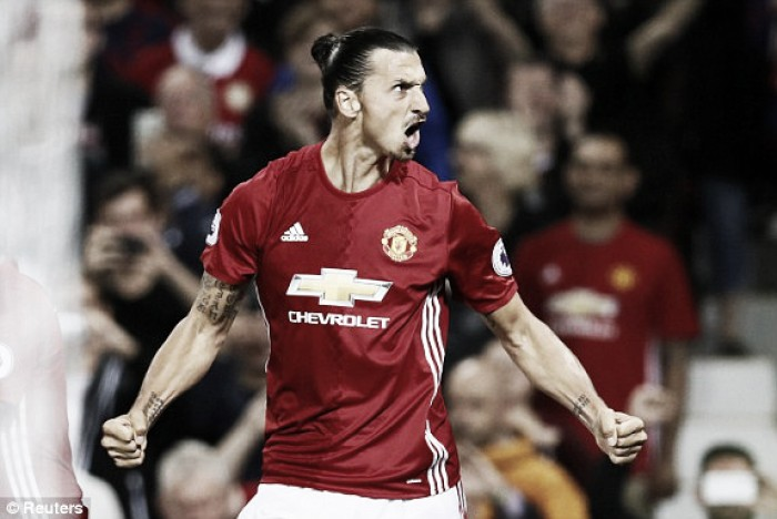Zlatan keen to promote team spirit after brace against Southampton