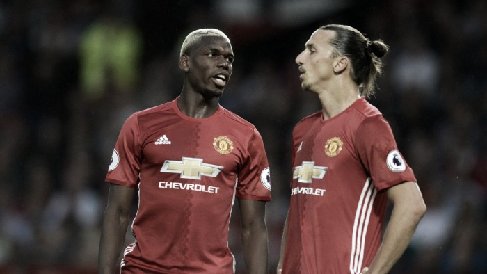 Ibrahimovic defends Pogba after questionable derby showing