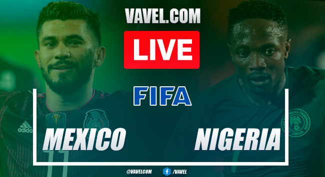 Goals and Highlights inMexico 4-0 Nigeria match 2021