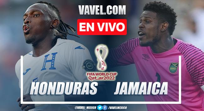 Goles y resumen del Honduras 0-2 Jamaica en Eliminatorias Qatar 2022