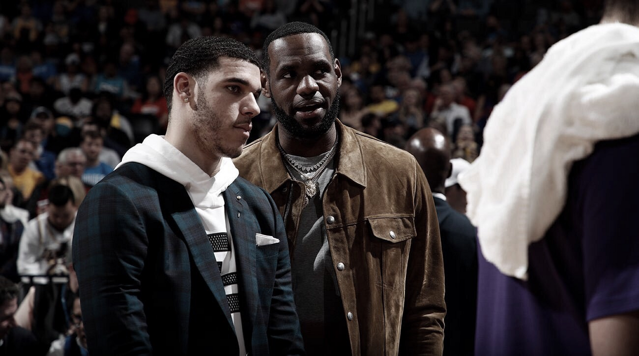 LeBron y Lonzo hablan en 'The Shop'