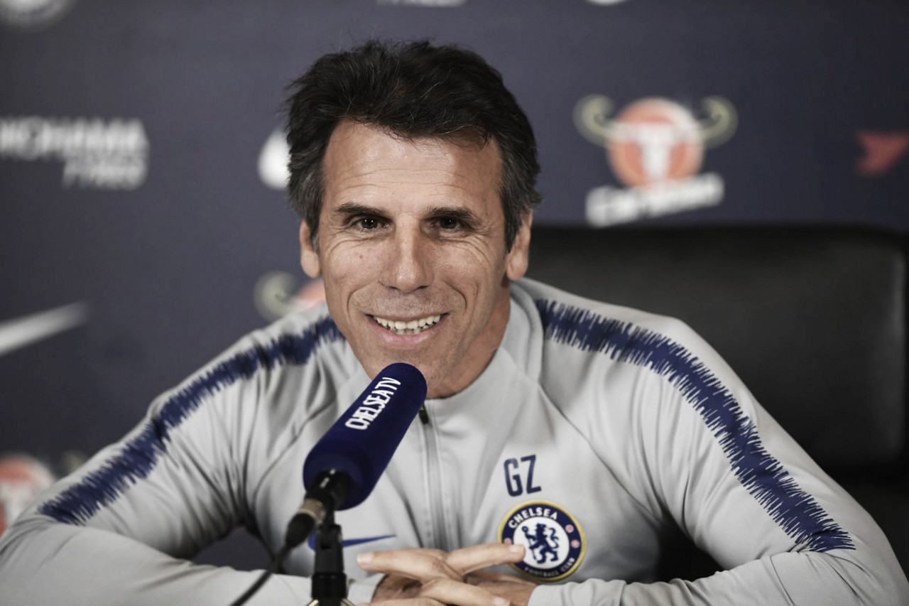 "Zola quer revanche do Chelsea contra Tottenham na Copa da Liga: ""Feliz que vamos enfrentá-los"""