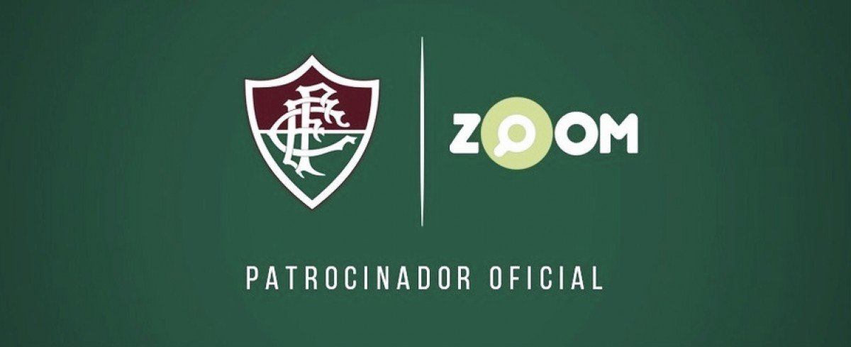 Fluminense anuncia patrocínio com o site Zoom até o fim da temporada