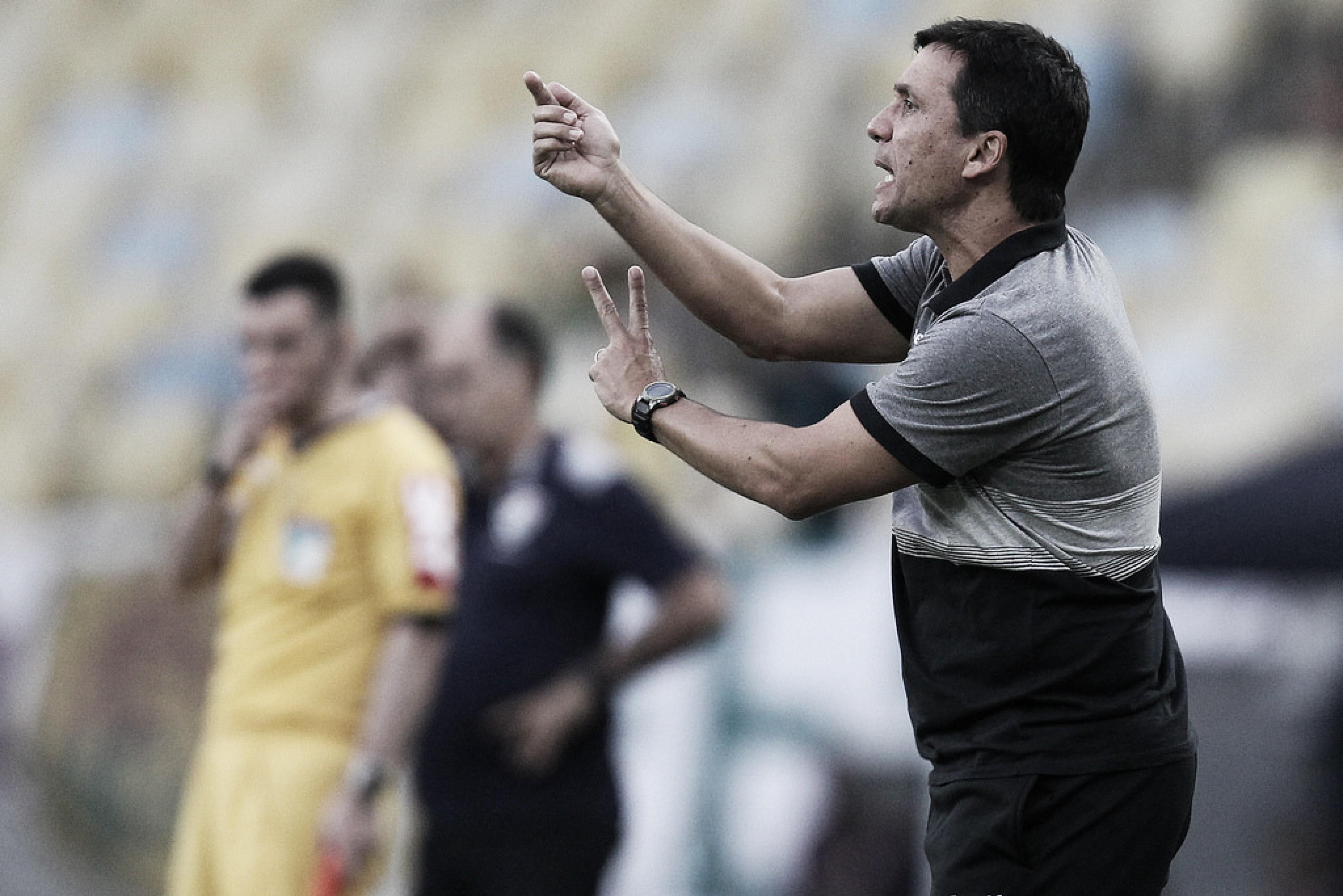 Zé Ricardo pede calma e equilíbrio ao Botafogo após derrota para o Fluminense