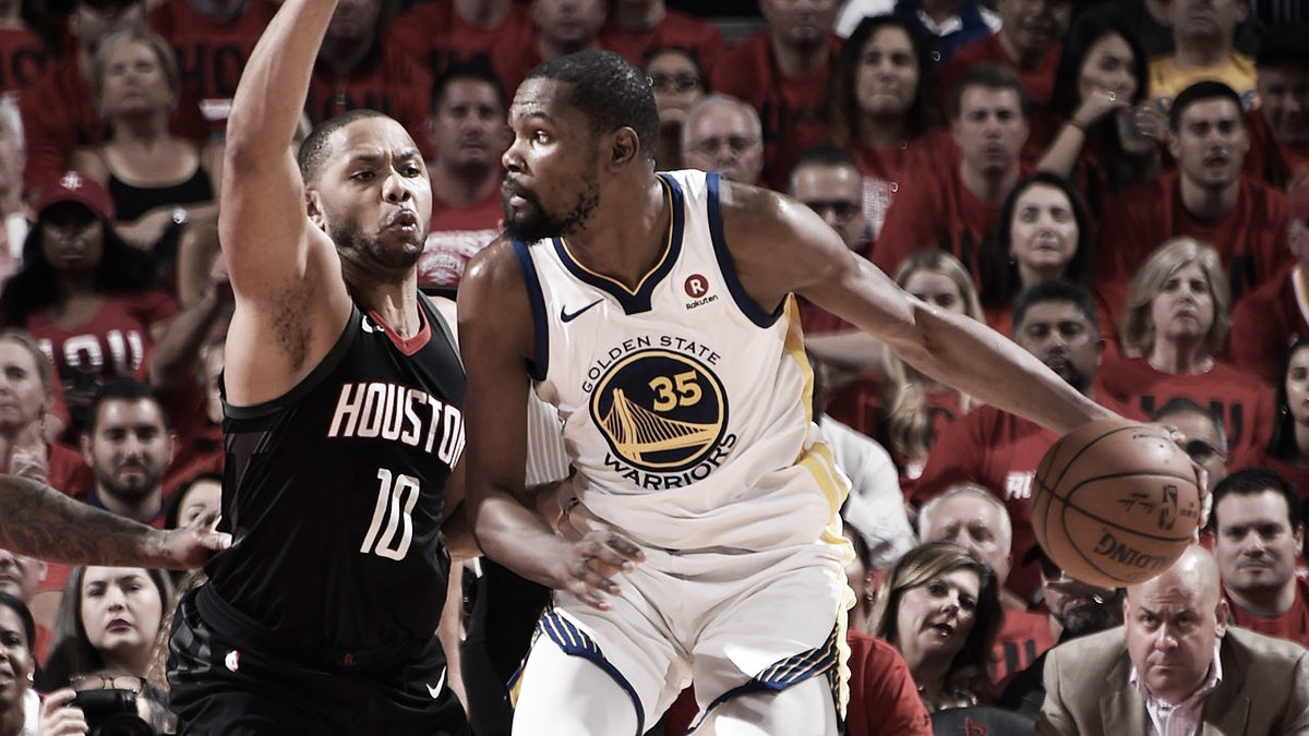Houston Rockets tie the series at one game apiece, defeat Golden State Warriors 127-105 in Game 2