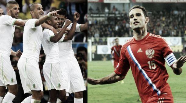 Algérie - Russie : match pour la qualification