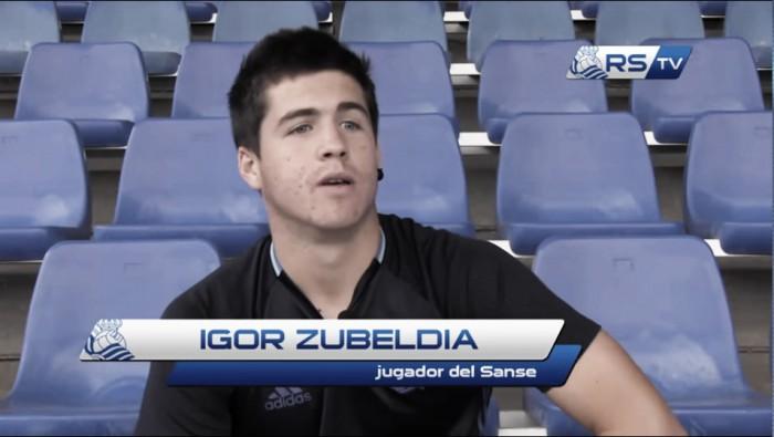"""Igor Zubeldia: """"Queremos olvidar y vencer de nuevo en casa"""""""