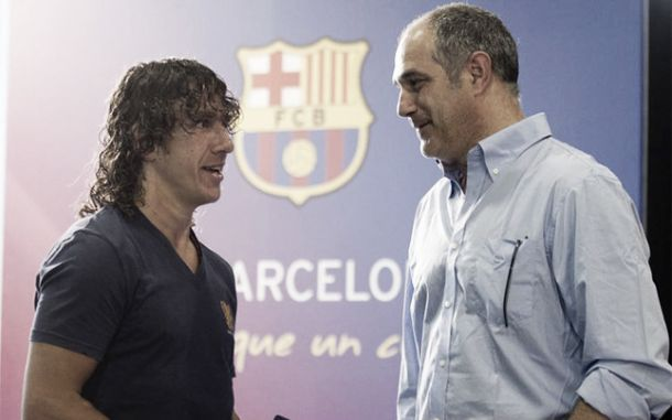 Convulsão em Barcelona: Zubizarreta e Puyol de saída