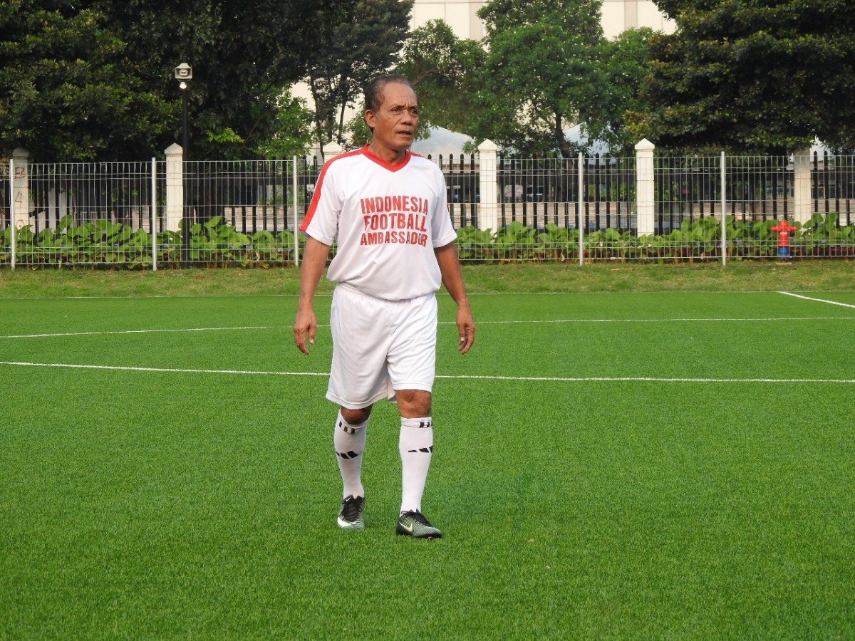 Zulkarnain Lubis 'Maradona dari Indonesia' Tutup Usia