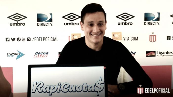 """Fernando Zuqui: """"En Estudiantes me hacen sentir como en mi casa"""""""
