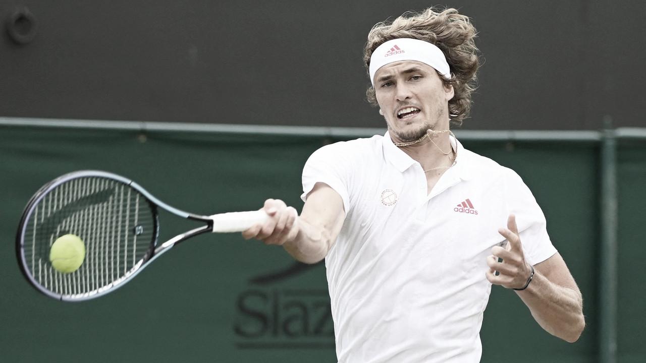 Zverev perde primeiro set, mas reage e vira para cima de Fritz em Wimbledon