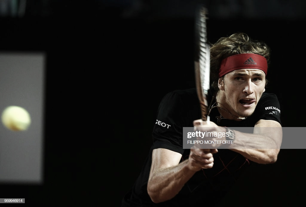 Alexander Zverev, un tenista condeterminación