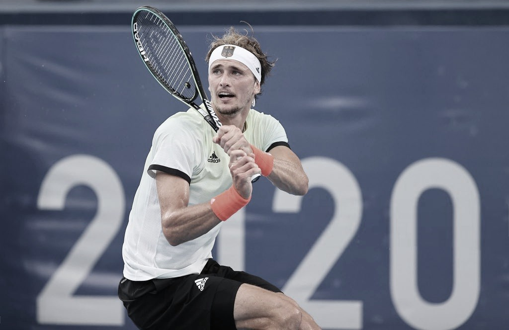 Zverev y Khachanov definirán el oro en Tenis