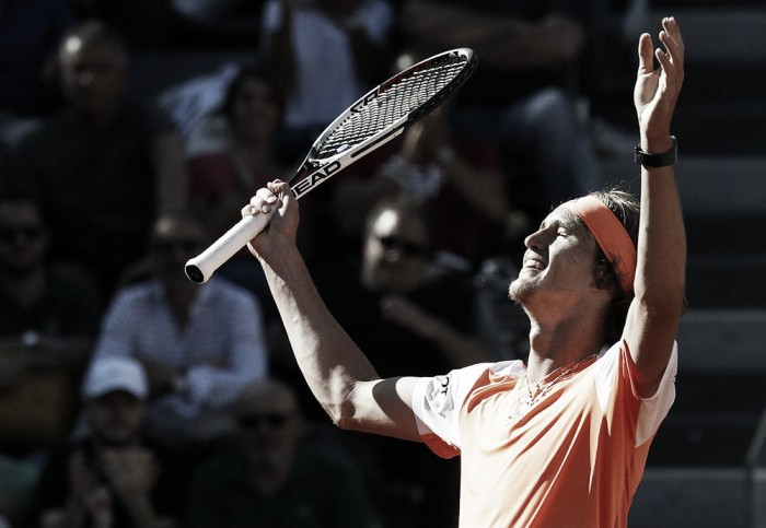 ATP Rome: Alexander Zverev holds off John Isner, books a spot into the final