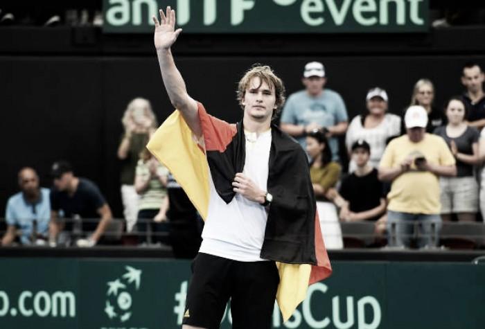 Copa Davis: Zverev comanda vitória alemã contra Austrália; Espanha elimina Grã Bretanha