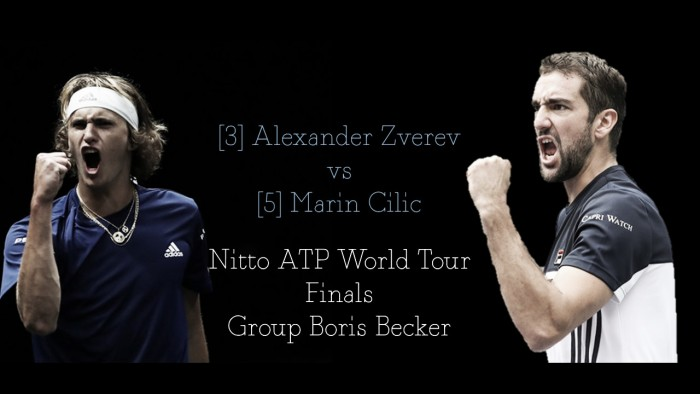 ATP World Tour Finals round-robin preview: Alexander Zverev vs Marin Cilic