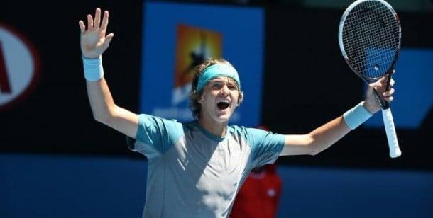 Alexander Zverev Wins ATP Star Of Tomorrow Award