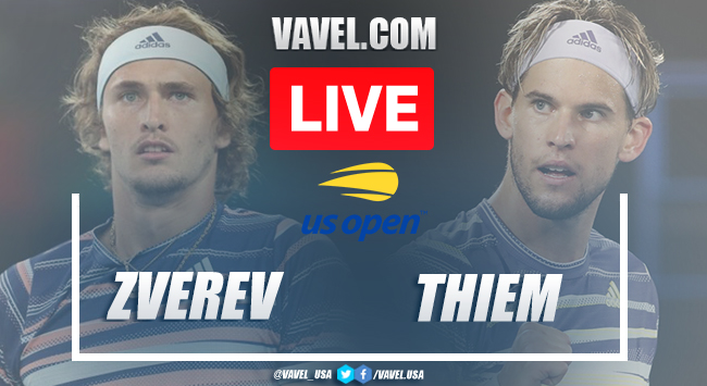 US Open: Alexander Zverev vs Dominic Thiem
