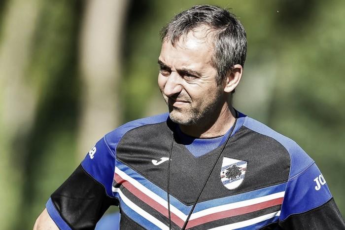 Sampdoria, Kownacki si presenta: