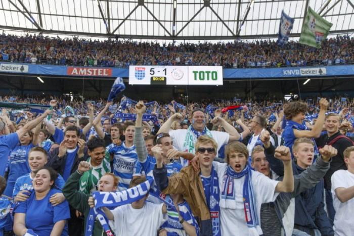 Do limbo ao sucesso: a caminhada do PEC Zwolle na KNVB Beker