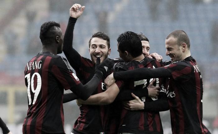 Milan, continua la rimonta verso il terzo posto