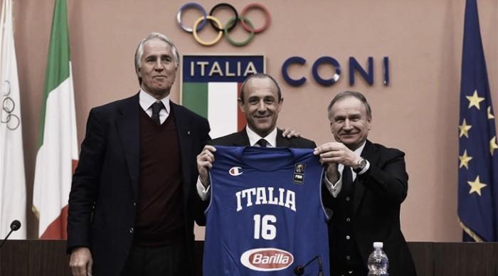 """Italbasket, Petrucci vuole continuare con Messina: """"Ci darà una risposta ad inizio 2017"""""""