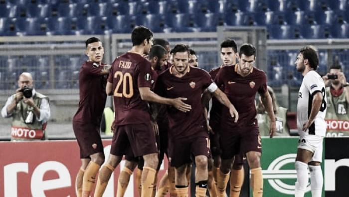 Astra Giurgiu-Roma in Europa League 2016/17 (0-0)