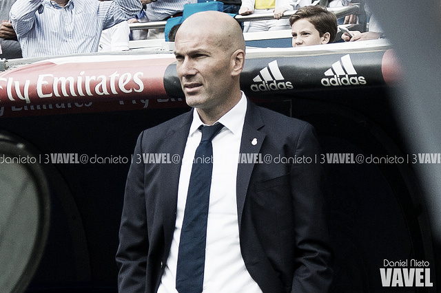 Zidane continúa con la reconstrucción