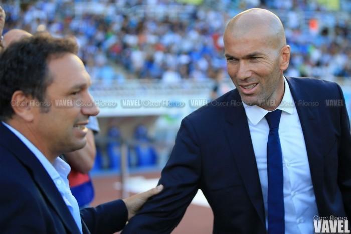 """Zidane: """"La mejor manera de empezar es ganando en un campo tan complicado"""""""