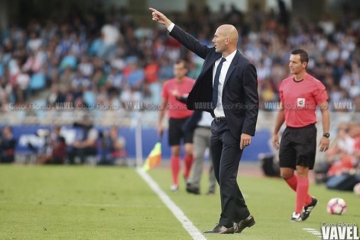 """Zidane: """"Intentaremos seguir sumando victorias, no hay otra cosa en nuestra cabeza"""""""