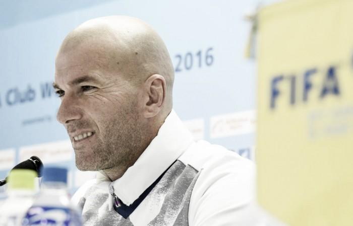 """Mondiale per Club, Zidane: """"Vinciamo e da gennaio ripartiamo da zero"""""""