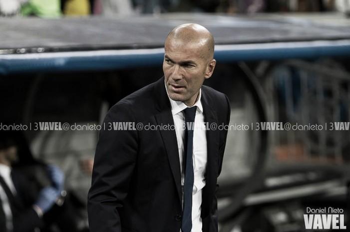 """Zidane: """"Estoy muy contento con el trabajo de todos"""""""