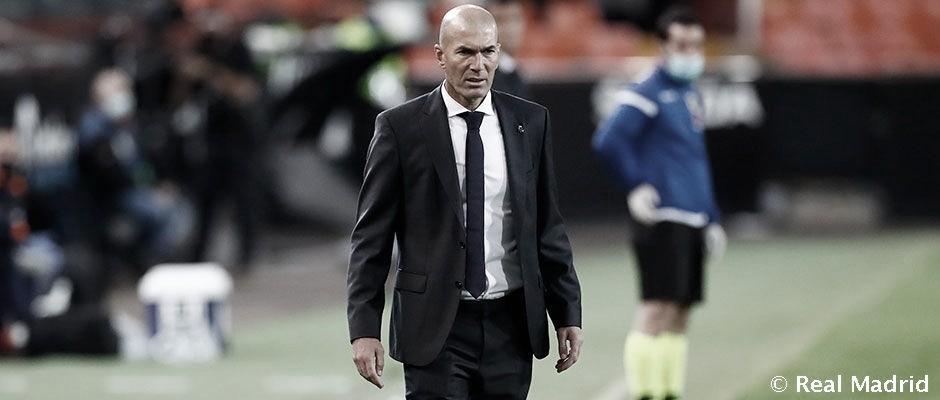"""Zidane: """"Es difícil de entender nuestro partido"""""""