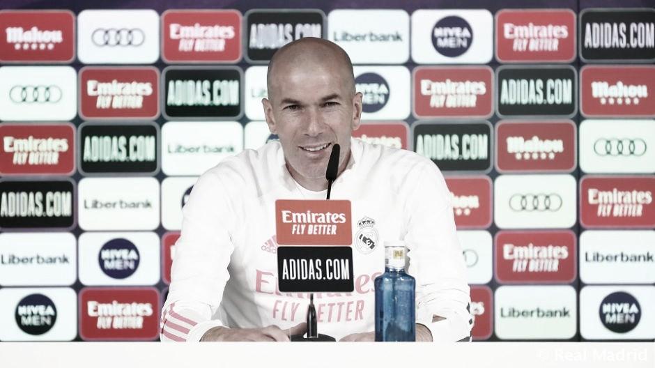 """Zidane: """"El derbi siempre es especial y bonito de jugar"""""""