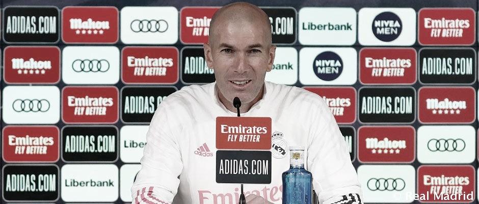 """Zidane: """"Es una suerte estar aquí, pelear para este club y es lo que voy a hacer hasta el último día"""""""