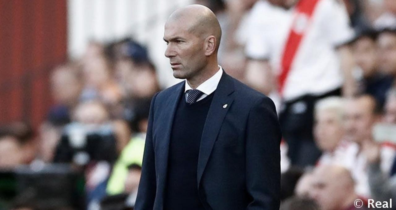 """Zidane: """"Siempre defiendo a mis jugadores, pero hoy no puedo"""""""