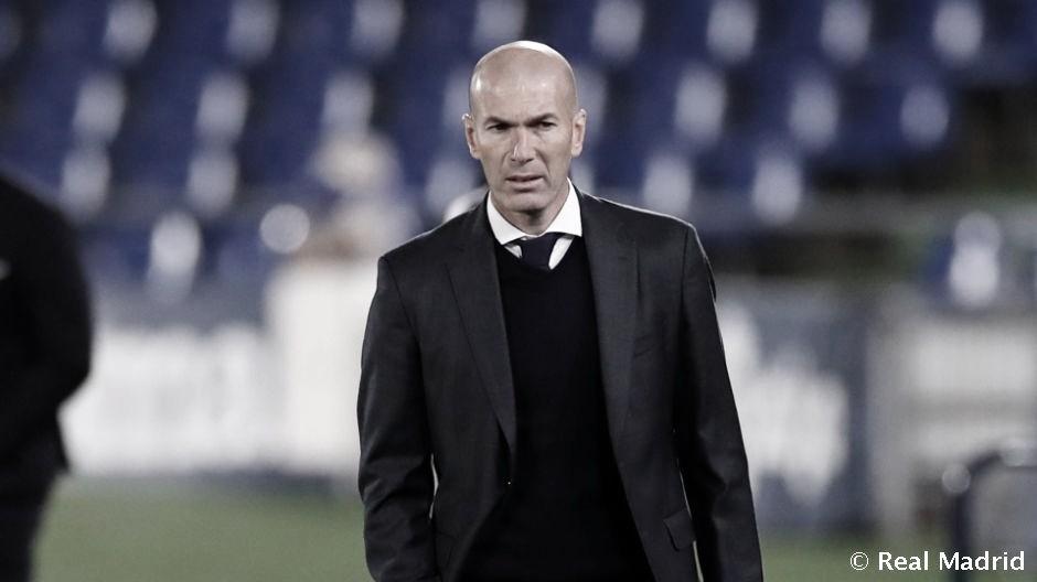 """Zidane: """"Tenemos que seguir porque quedan muchos puntos"""""""