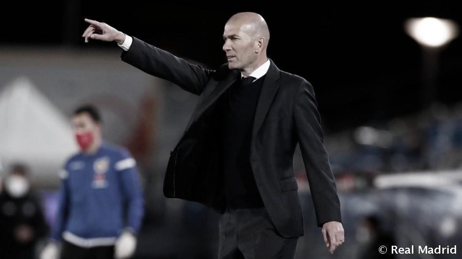 """Zidane: """"No digo que vayamos a ganar la liga, pero garantizo que haremos todo lo posible por intentarlo"""""""