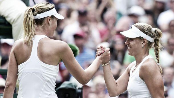 Em grande jogo, Angelique Kerber elimina Maria Sharapova de Wimbledon